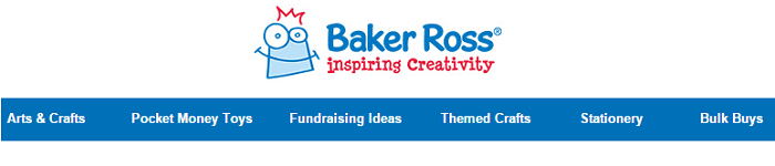 Baker Ross website