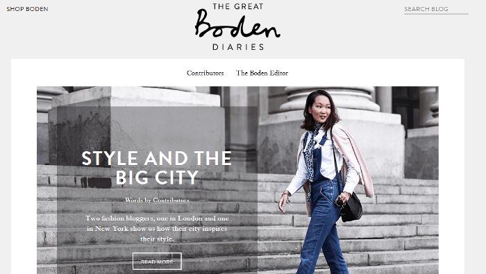 Boden blog