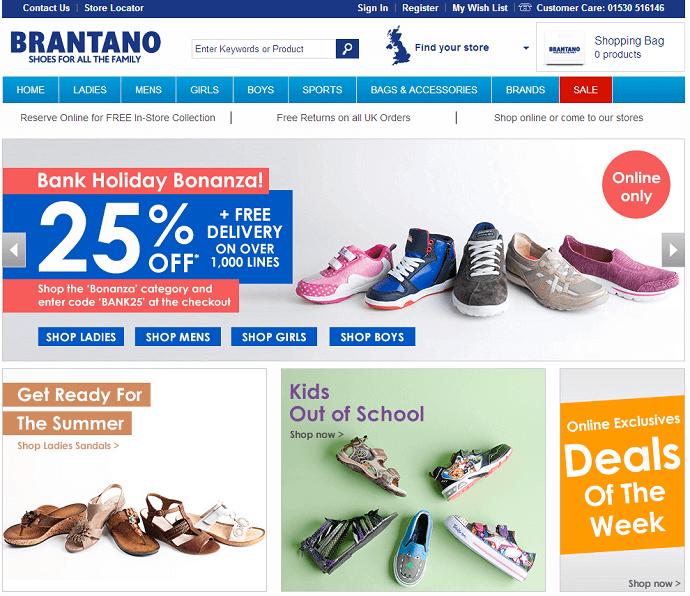 Brantano online store
