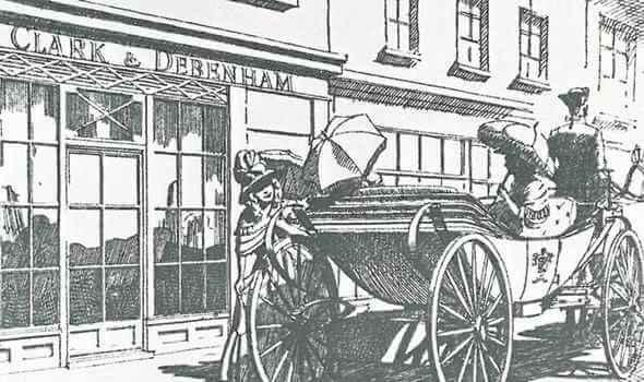 William Debenham became a partner in Clark & Debenham in London