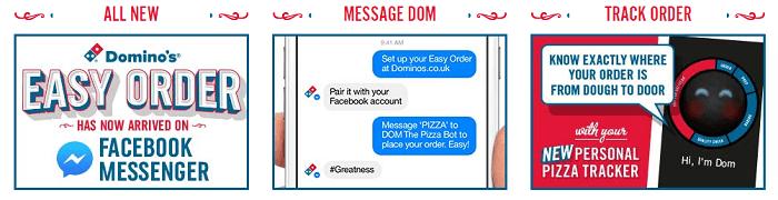 Domino's easy order
