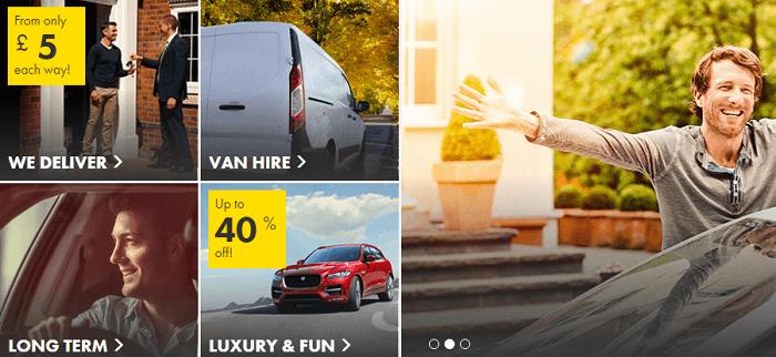 Europcar website