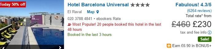 Ebookers deals