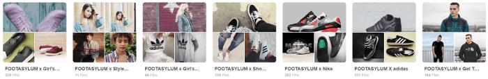 Footasylum pins