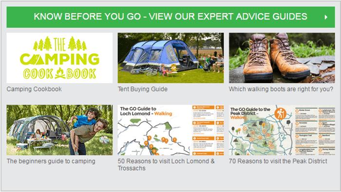 Outdoors advice
