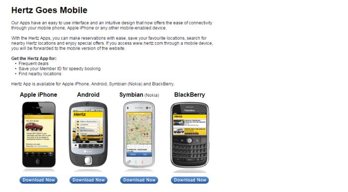 Hertz mobile