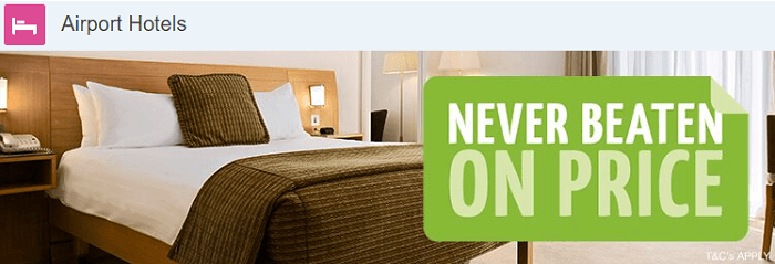 Holiday extras airport hotels