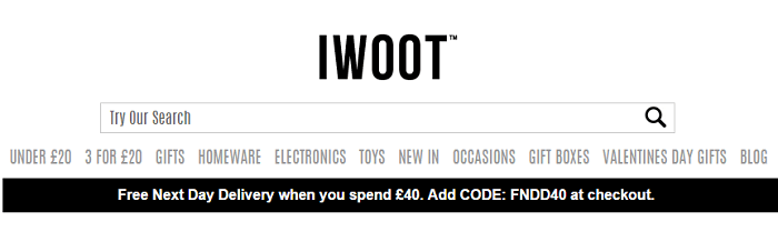 IWOOT website