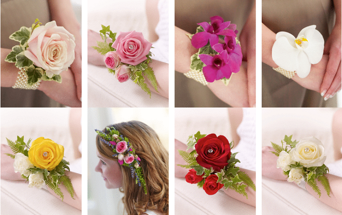 Interflora corsages