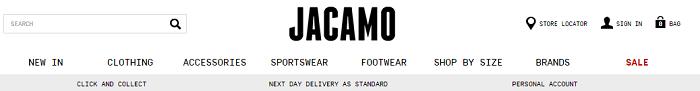 Jacamo webstore