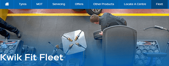 Kwik Fit fleet
