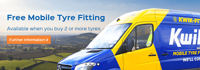 Kwik Fit Tyre Fitting