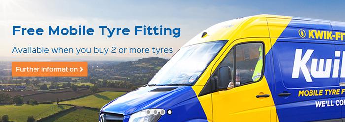 Kwik Fit Tyre Fitting