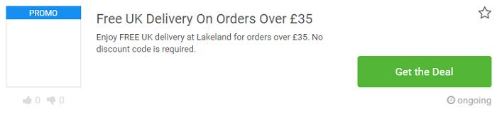 Lakeland vouchers