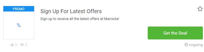 Marisota deals at Picodi UK