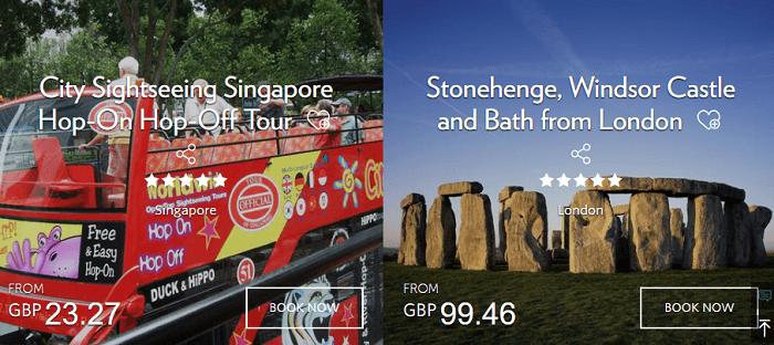 Millennium Hotels tours