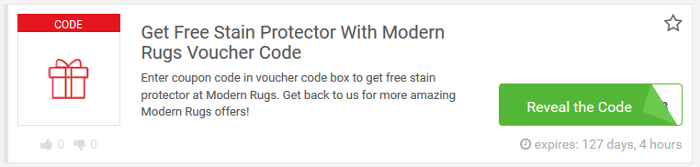 Modern Rugs codes