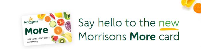 Morrisons card