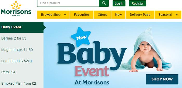 Morrisons website