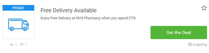 NVS Pharmacy deal at Picodi