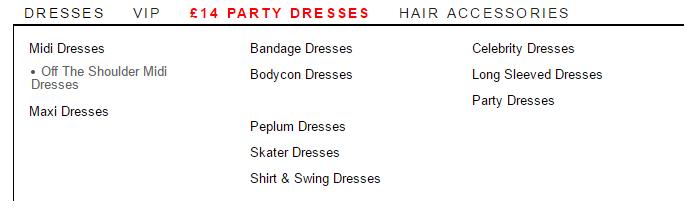 OMG Fashion dresses