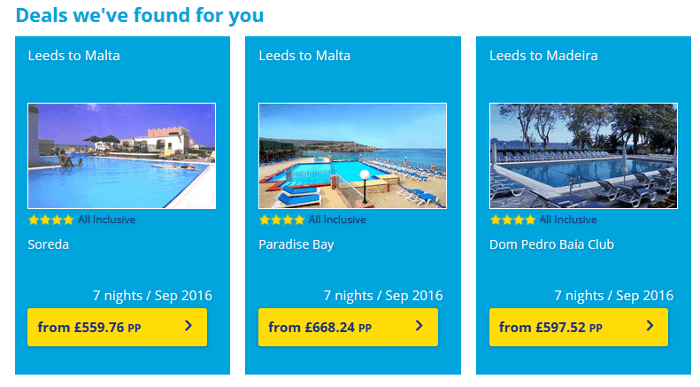 Book cheap holidays from just £59 per person at Holiday Gems. Spread the cost and book with a low deposit.