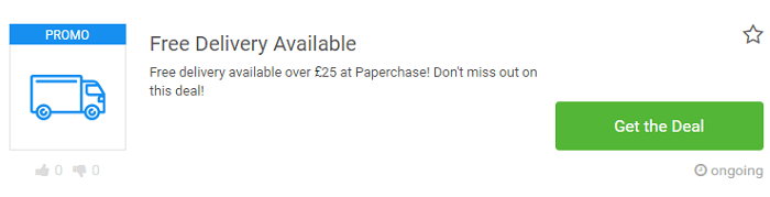 Paperchase deals at Picodi