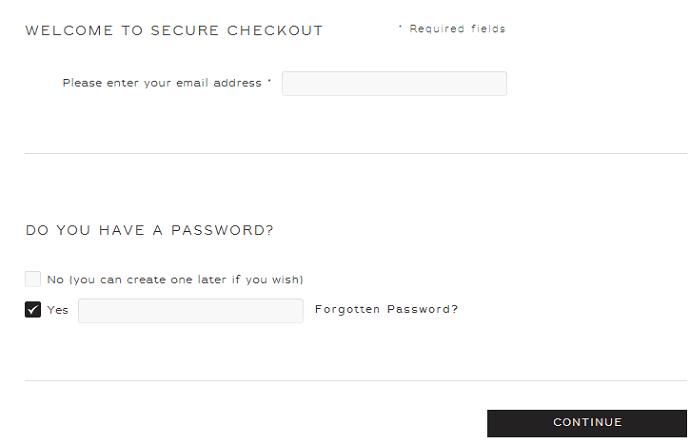 Reiss discount code box
