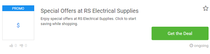 RS Electrical Supplies deals at Picodi