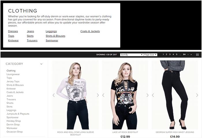 Select Fashion clothing