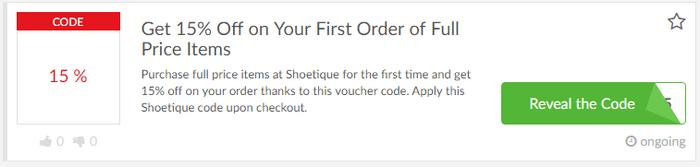 Shoetique code