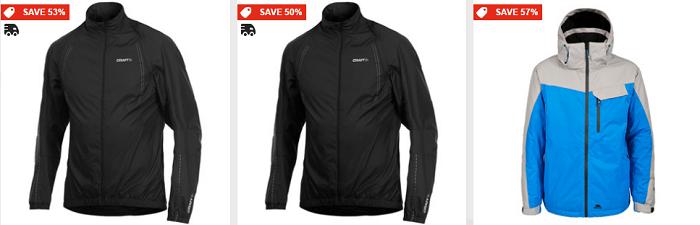Sportpursuit jackets