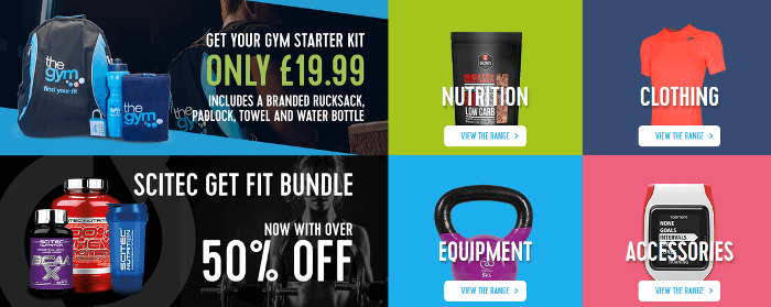 The Gym offer