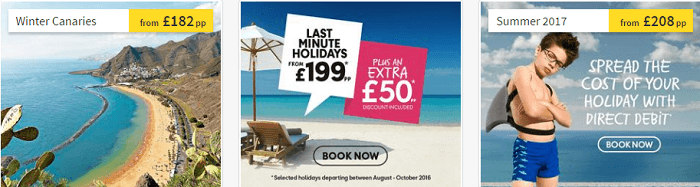 Spread the cost at Thomas Cook