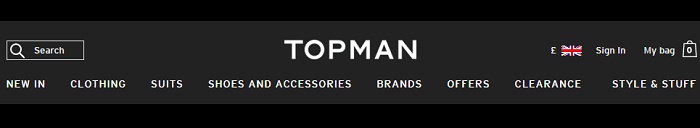 Topman website