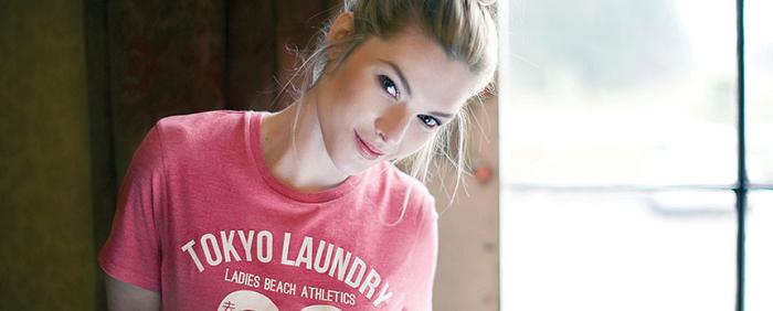 Tokyo Laundry girl
