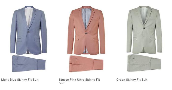 Topman suits