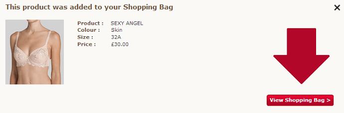 Triumph shopping bag