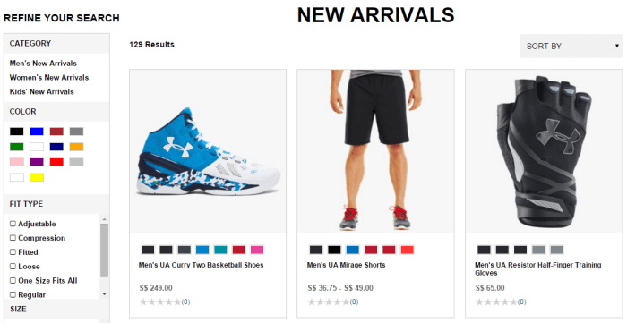 shop new arrivals with Under Armour promo codes