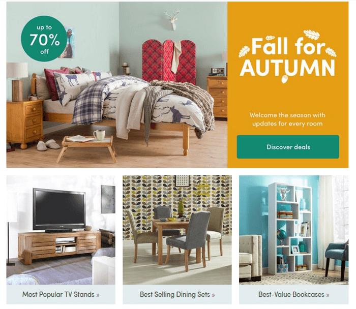 wayfair discount code 70 march 2018 save big. Black Bedroom Furniture Sets. Home Design Ideas