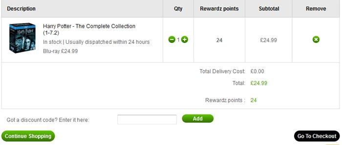 Zavvi discount codes box