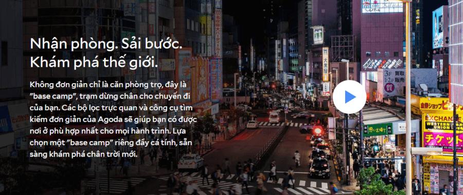 Agoda - Trạm dừng chân cho chuyến đi của bạn.