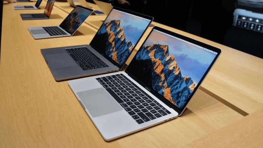 Dòng máy tính Macbook nổi tiếng của hãng.