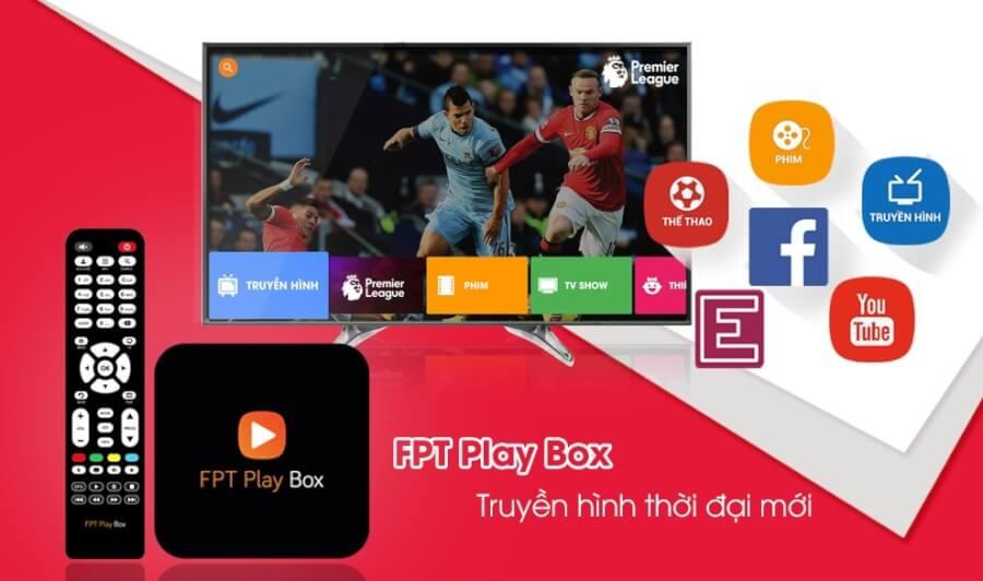 FPT Play Box - Giúp biến TV thường thành Smart TV trong tích tắc.