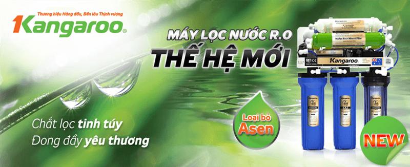 Kangaroo - Thương hiệu máy lọc nước hàng đầu Việt Nam.