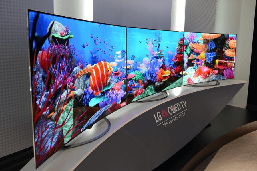 Sản phẩm Tivi OLED 4K đình đám của LG.