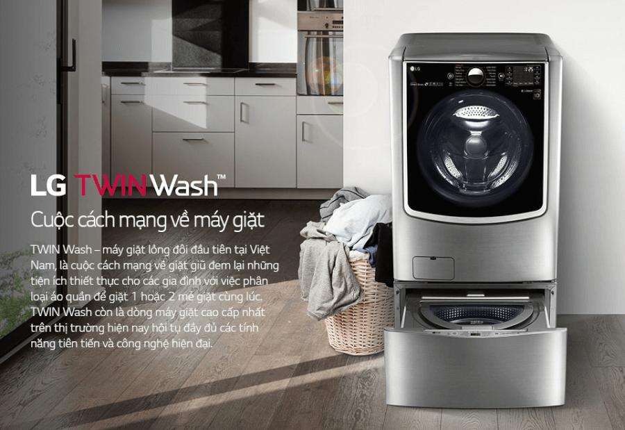LG - thương hiệu máy giặt nổi tiếng.