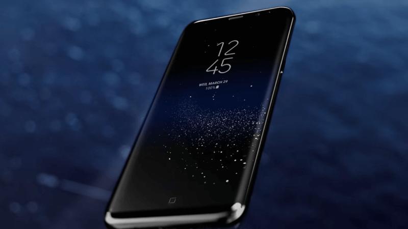 Siêu phẩm S8 với màn hình vô cực tuyệt đẹp.