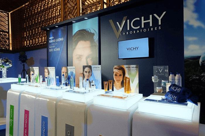 Vichy - Thương hiệu mỹ phẩm hàng đầu.