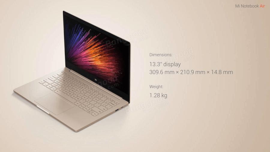 Laptop Xiaomi Noteboook Air 13.